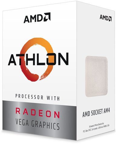 AMD Athlon 3000G 3.5GHz Socket AM4 Prosessor
