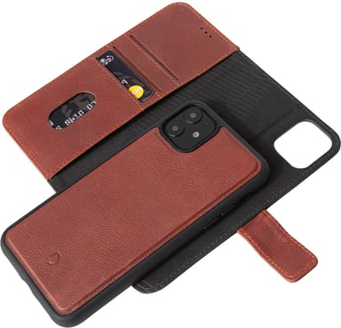 Decoded Detachable Wallet iPhone 11 iPhone Xr Brun
