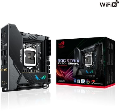 ASUS ROG STRIX Z490-I GAMING (WI-FI) Mini ITX Moederbord