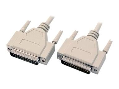 Microconnect Rinnakkaiskaapeli 10m 25-nastainen D-Sub (DB-25) Uros 25-nastainen D-Sub (DB-25) Uros