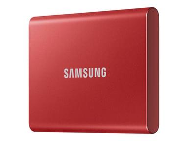 Samsung Portable SSD T7 1TB 1TB Rød