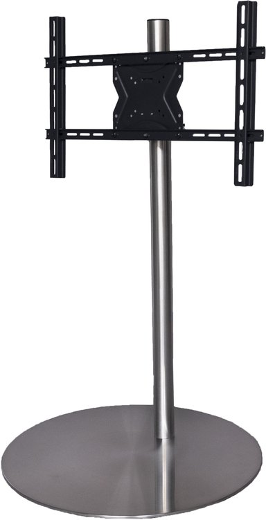Sinox Rotatable TV Floor Mount 600X400 - Silver
