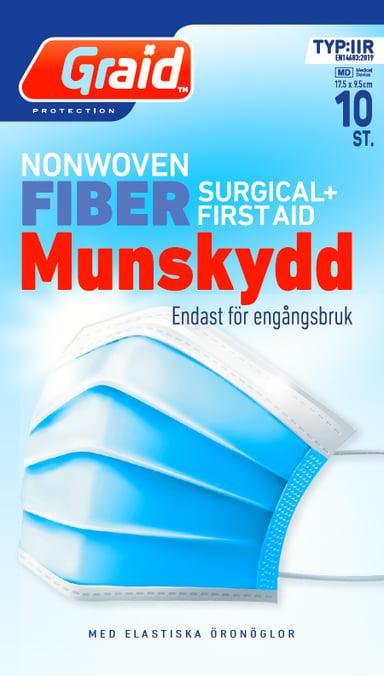 Graid Munnbund Type IIR 10 stk. null