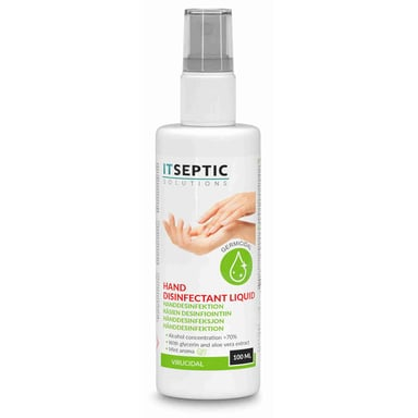 Itseptic Hand Disinfection Liquid >70% Alcohol 100ml
