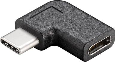Microconnect USB-C To C Adapter 90° 24-pins USB-C 24-pins USB-C