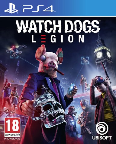 Ubisoft Watch Dogs Legion Standard Edition