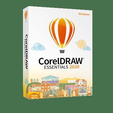 Corel Coreldraw Essentials 2020 Windows Engelsk Boks