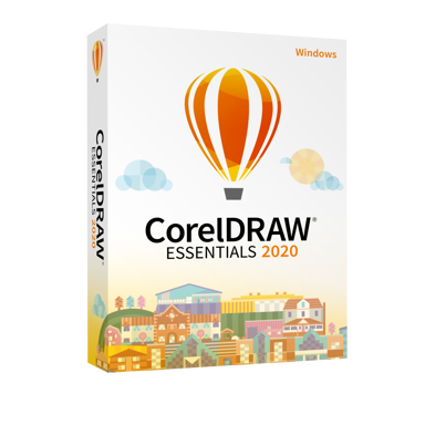 Corel Coreldraw Essentials 2020 Windows Engelsk Box