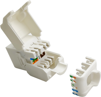Direktronik Keystone RJ45 UTP AWG28 for Slim Cable