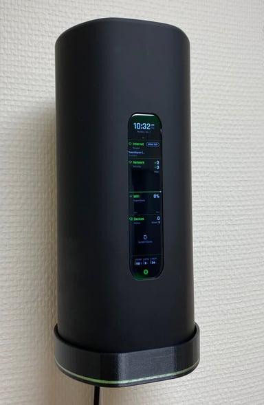 Winther 3d-printat väggfäste AmpliFi Alien