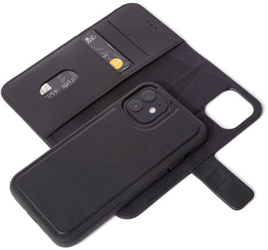 Decoded Leather Wallet iPhone 12 iPhone 12 Pro Svart