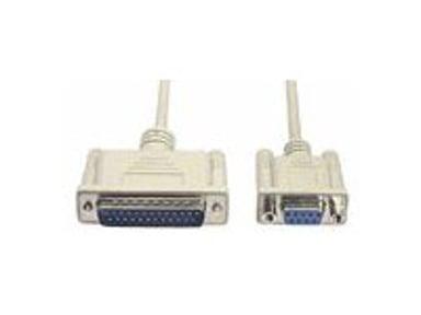 Deltaco Serielt kabel 3m 25-pin D-Sub (DB-25) Han 9-pin D-Sub (DB-9) Hun