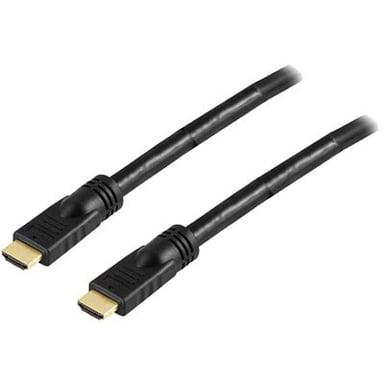 Deltaco HDMI - HDMI HIGH SPEED W/ ETHERNET ACTIVE 25m HDMI Hane HDMI Hane