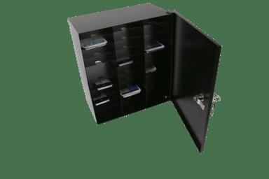 Leba Notebox Mobile Storage (Wall/Desk) 32 Cell Phones #FI