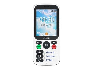 Doro 780X Valkoinen