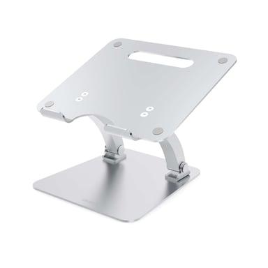 Desire2 Laptop Stativ Dual Pivot Riser Justerbar Alu Silver