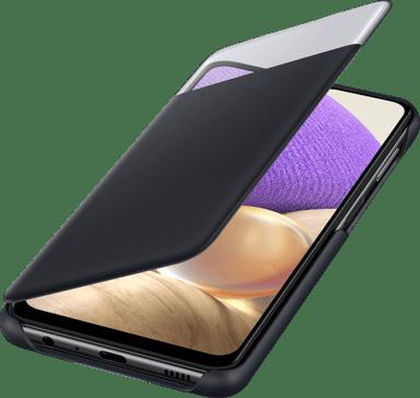 Samsung S View Wallet Cover EF-EA326 Samsung Galaxy A32 5G Svart