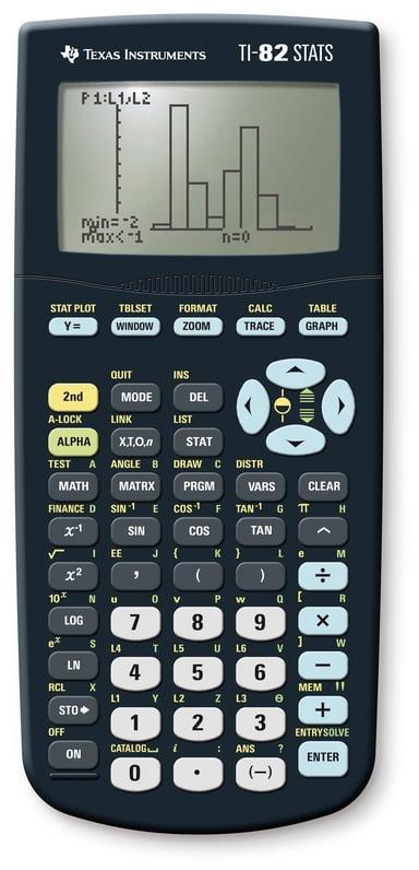 Texas Grafräknare Ti-82 Stats