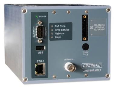 Meinberg Lantime M100 GPS Clock Din Mount 100-240Vac/DC