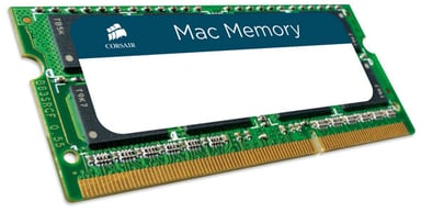 Corsair Mac Memory Minne 8GB 8GB 1,600MHz DDR3 SDRAM SO DIMM 204-pin