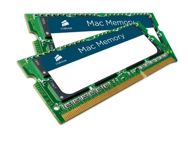 Corsair Mac Memory 16GB 1,600MHz DDR3 SDRAM SO DIMM 204-pin