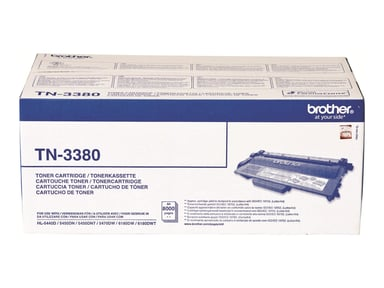 Brother Toner Svart TN-3380 8k - HL-5450DN