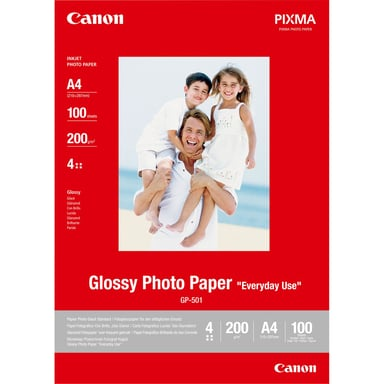 Canon Papper PhotoEveryday GP-501 A4 100-Ark 200g