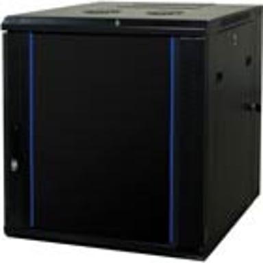 """Toten 19"""" Wall Cabinet 12U 600X600 Glassdoor+Backdoor"""