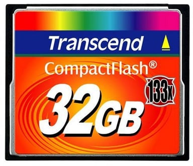 Transcend Flash memory card 32GB CompactFlash-kaart