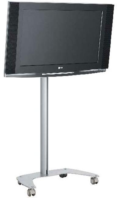SMS Flatscreen FM MST1200 Golvstativ Alu/Svart Universal