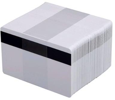 Evolis Plastkort 0,76mm HiCo Magnetremse 100 stk null