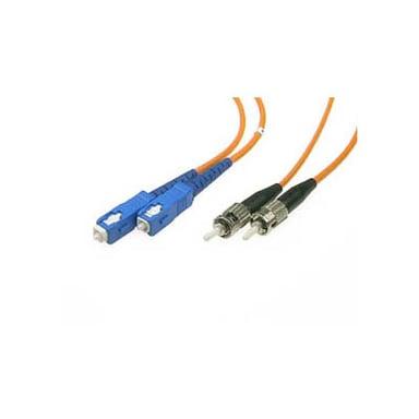 Deltaco Fiberoptisk kabel SC/UPC ST/UPC OM1 2m 2m