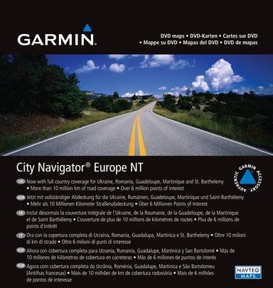 Garmin MapSource City Navigator NT Europe null