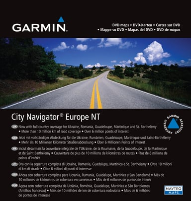 Garmin MapSource City Navigator NT Europe
