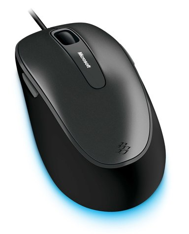 Microsoft Comfort Mouse 4500 for Business 1,000dpi Muis Met bekabeling Zwart
