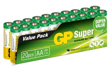 GP Power Batteri Super Alkaline 20pcs AA/LR6