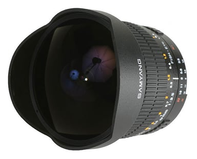 Samyang Mf 8mm/F3,5 Fisheye Csii - Nikon AE