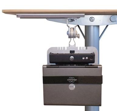 Kondator LiftLap sats för montering av system/bärbar dator under skrivbord