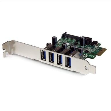 Startech 4 Port PCI Express PCIe USB 3.0 Card w/ UASP