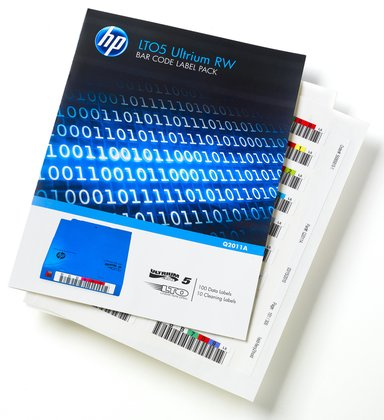 HPE Ultrium 5 WORM Bar Code Label Pack