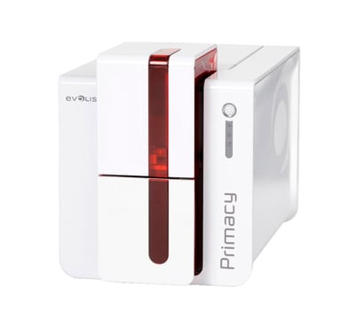 Evolis Primacy USB/Eth Red Front