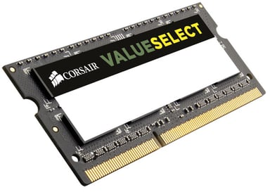 Corsair Value Select 8GB 8GB 1,600MHz DDR3 SDRAM SO DIMM 204-PIN