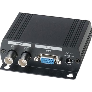 Deltaco Adapter BNC Hane Svart
