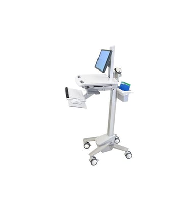 Ergotron StyleView EMR Cart with LCD Pivot