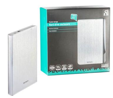 "Deltaco MAP-GD29U3 2.5"" USB 3.0 Silver"