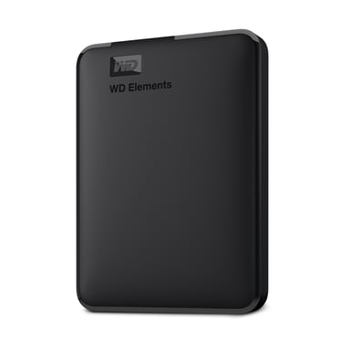 WD Elements Portable 1TB 1TB Svart