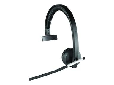 Logitech Wireless Headset Mono H820e Svart