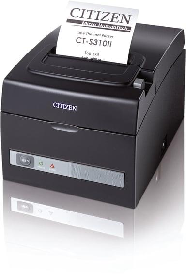 Citizen CT-S310II USB/Seriell, Internal Power Supply Svart null
