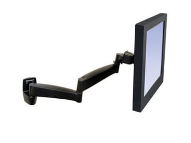 Ergotron 200 Monitor Arm For Wall Black #Demo