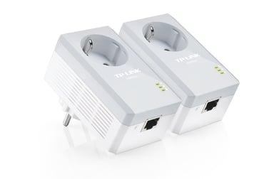 TP-Link TL-PA4010PKIT AV500+ Powerline Kit with AC Pass Through